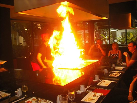 Sirenis Hotel Club Aura : tepenyaki restaurant