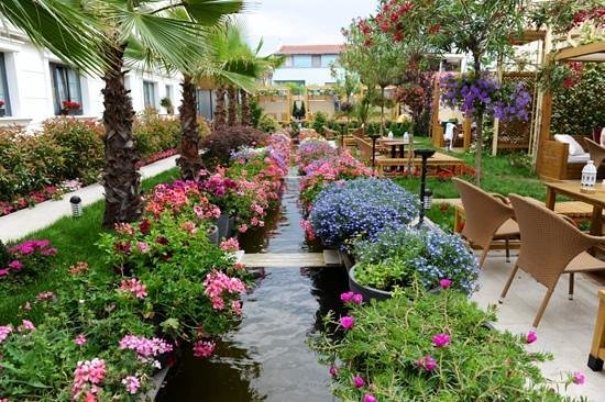 Sura Design Hotel & Suites: giardino interno