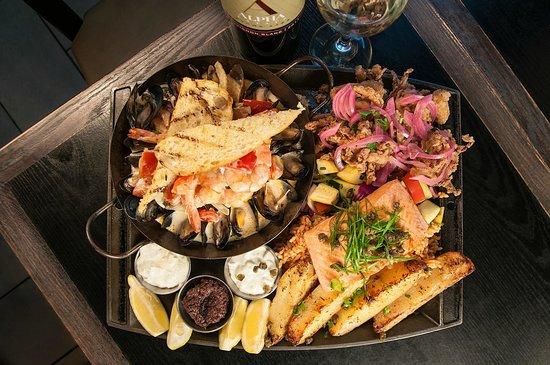 Seafood Platter - Picture of Balkan Restaurant, Banff - Tripadvisor