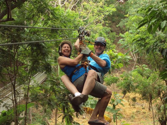 Infinity Bay Spa and Beach Resort: south shore zip line adventure tour