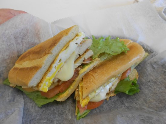 Gaucho's Cuisine: Steak BBQ Sandwich