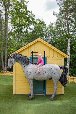 Astrid Lindgren's World: Maria på hesten til Pippi