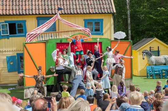 Astrid Lindgren's World: Pippi dro på cirkus