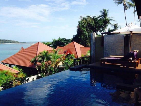Nora Buri Resort & Spa: Private pool
