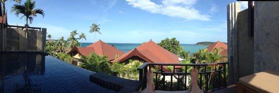 Nora Buri Resort & Spa : Panorama view from the villa