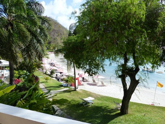 BodyHoliday Saint Lucia : The view from our luxury ocean front room