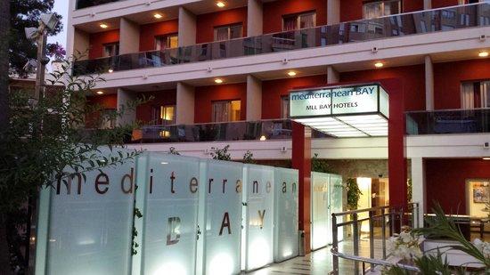 Mediterranean Bay Hotel : Tranquilidad.