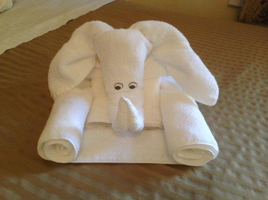 Baldwin Hotel: Creative housekeeping