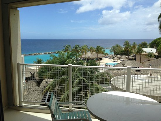 Sunscape Curacao Resort Spa & Casino: Daytime view from ocean front balcony