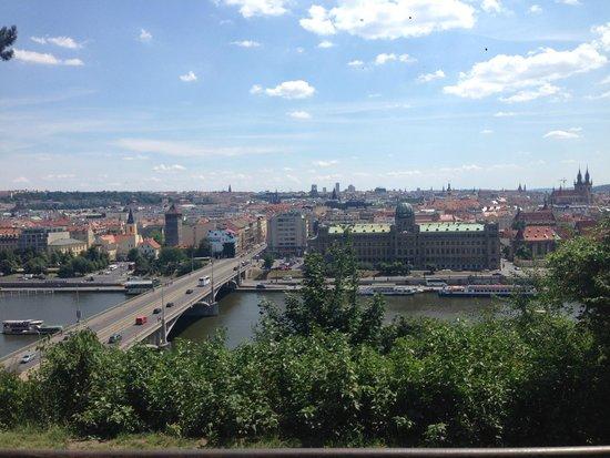 Premier Prague Tours: Overlooking the city