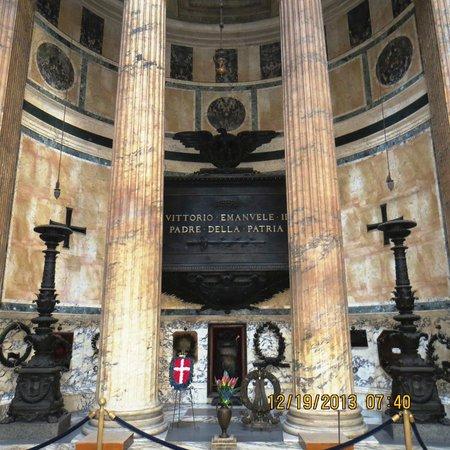 Pantheon: interior