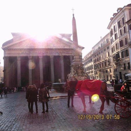 Pantheon: em frente