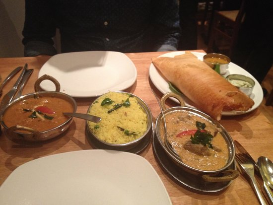 Chettinad Restaurant : Delicious meal!