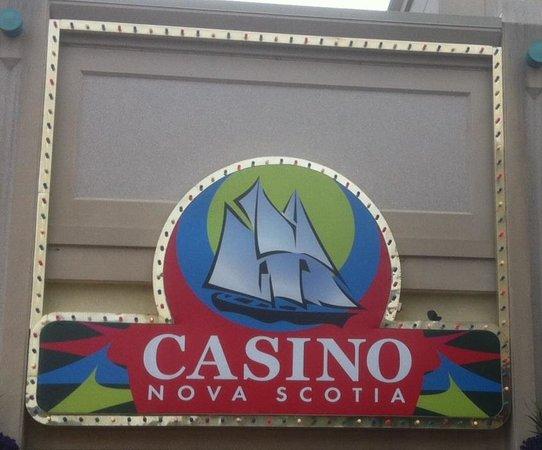 Casino Nova Scotia: Sign