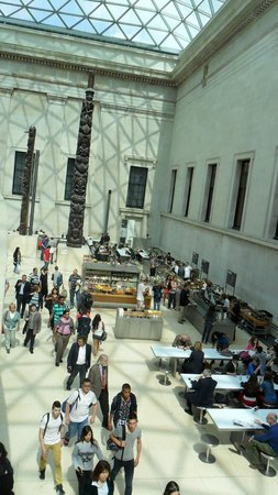 British Museum : LANCHONETE DO MUSEU