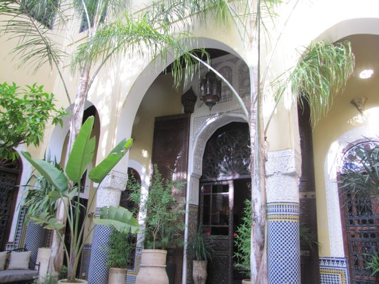 Riad Le Calife: Riad courtyard