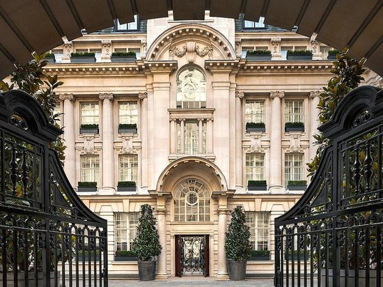 Rosewood London: Entrance