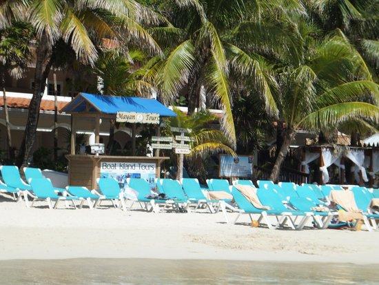 Mayan Princess Beach & Dive Resort: from the water