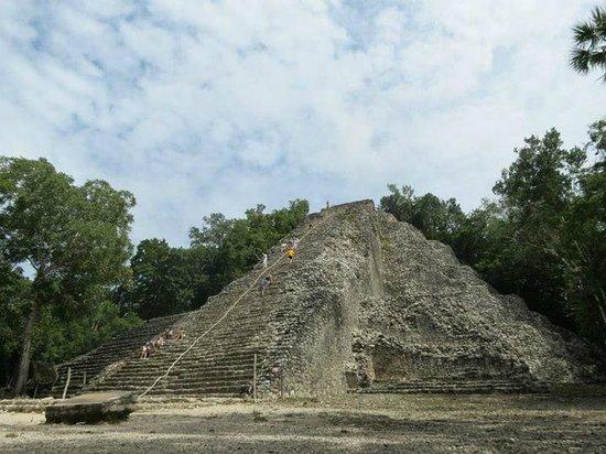 Ruinas de Coba: la gran pirámide