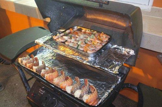 Oistin's Friday Night Fish Fry : comida tipica