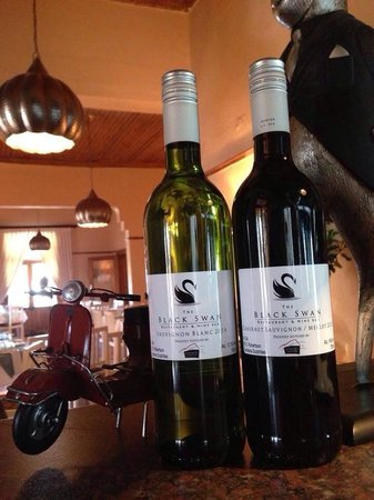 The Black Swan Restaurant & Wine Bar : House wine