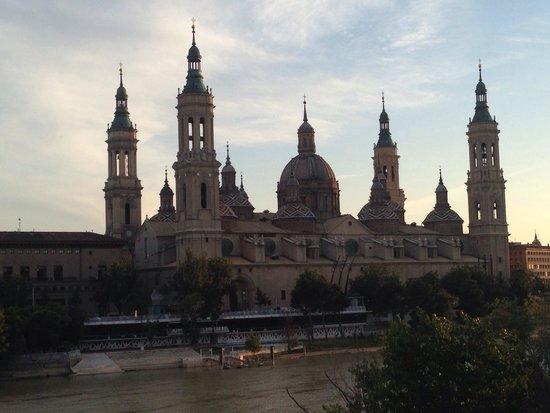 Basílica de Nuestra Señora del Pilar: Bonitas vistas