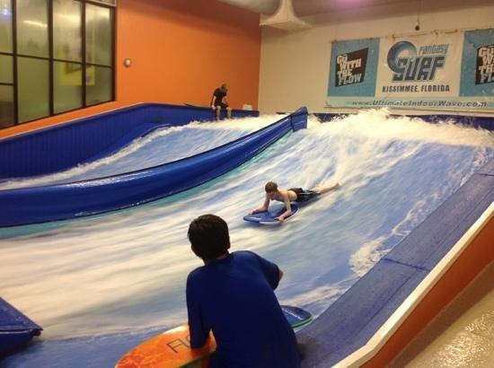 Fantasy Surf: boogie board fun