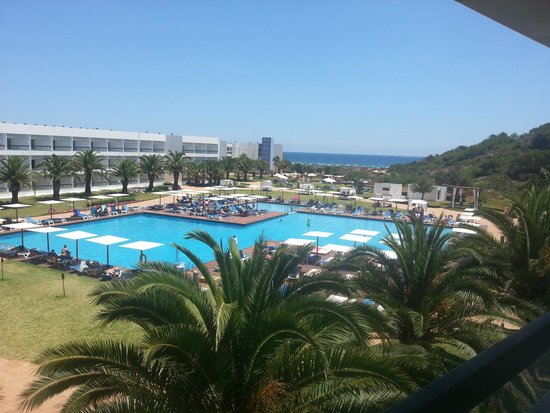Grand Palladium Palace Ibiza Resort & Spa : VISTAS DESDE LA TERRAZA