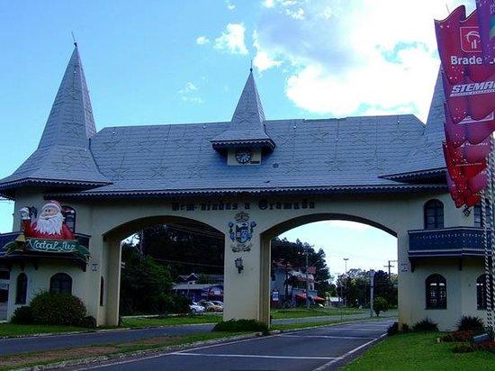 Portico Via Taquara: Pórtico via Taquara