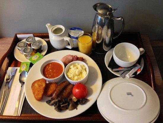 Novotel Leeds Centre : Room Service Breakfast
