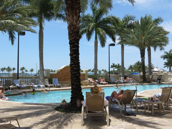 The Westin Cape Coral Resort At Marina Village: One of three pools!