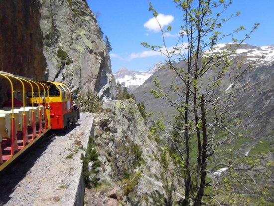 Le Train d'Artouste : The train!