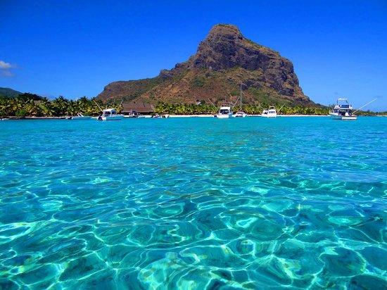 Beachcomber Dinarobin Hotel Golf & Spa: Salida de snorkel.