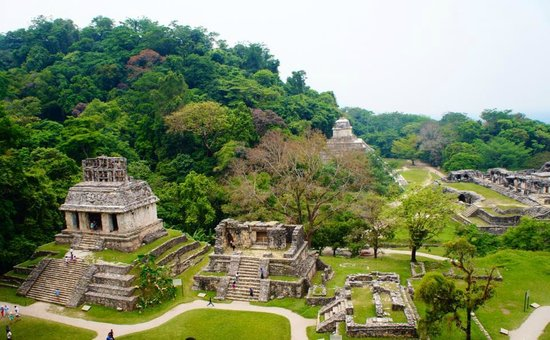 National Park of Palenque: Templo
