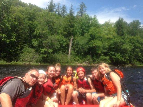 U.S. Rafting: Rafting on the Kennebec River!