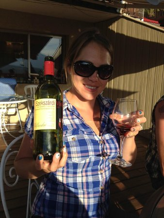 Rocky Mountain Springs Lodge and Restaurant: You MUST try the awesome Hungarian wine! So good!