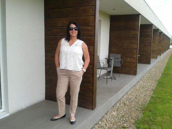 Lochside House Hotel & Spa: outside garden suite