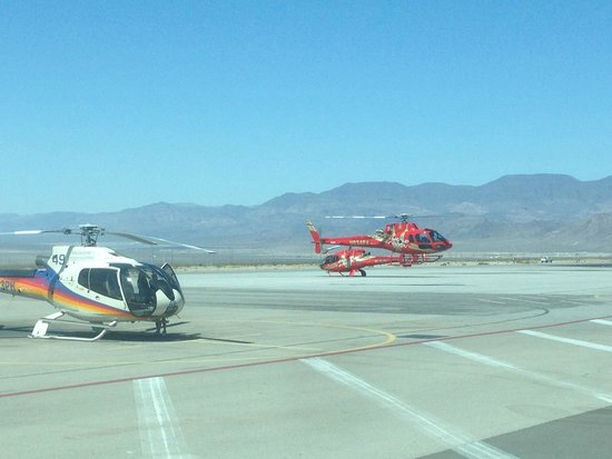 Papillon Grand Canyon Helicopters: Airport