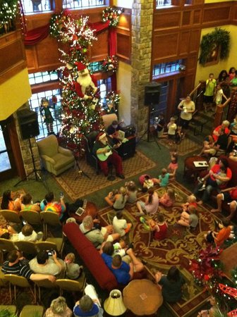 The Inn at Christmas Place: Santa singing Christmas songs