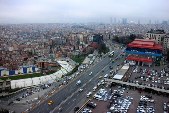 The Marmara Pera Hotel : Вид с 17 этажа