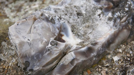 Old Sarum: Strange stones within the walls