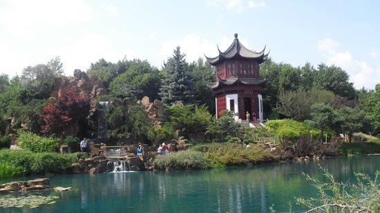 Foto de montreal botanical gardens montreal jard n chino for Chino el jardin