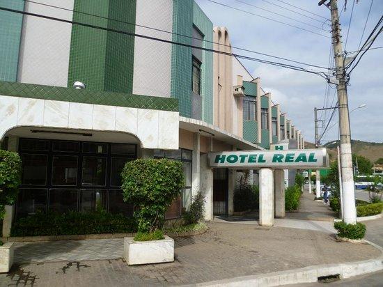Fachada do Hotel REAL