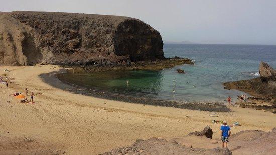 Playa de Papagayo: Playa el papagayo