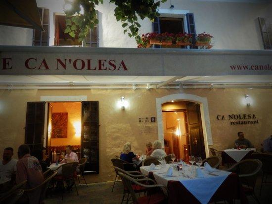 Can Olesa: Evening setting