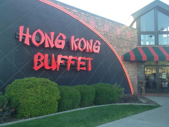 Hong Kong Buffet: Front door