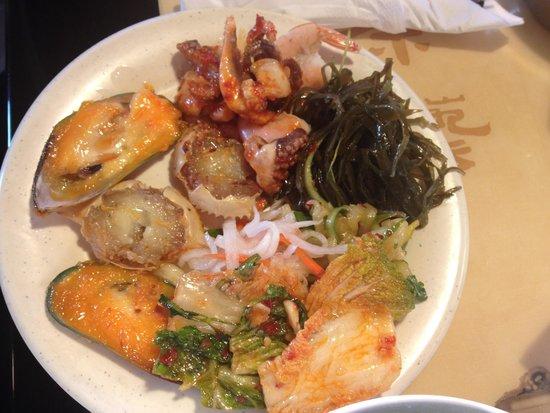 Hong Kong Buffet : Nice food