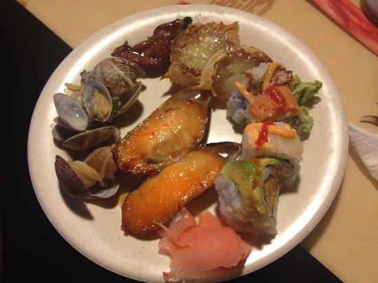 Hong Kong Buffet: Food