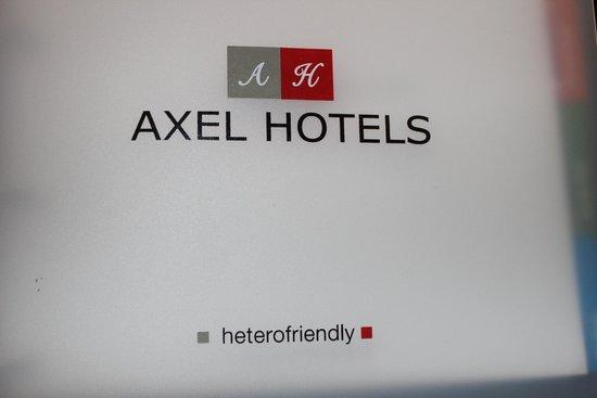 Axel Hotel Berlin: Hotel brochure