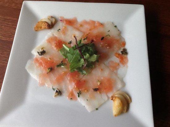 Tabblon Restaurant: Bacalla carpaccio